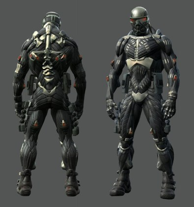 A nanosuit do game Crysis