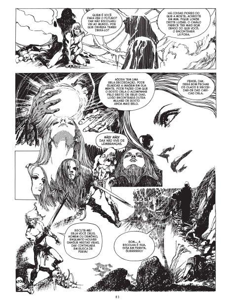 Espadas e Bruxas, de Esteban Maroto