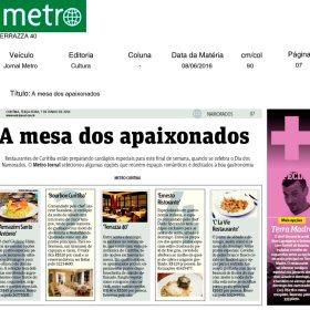 Terrazza 40 - Jornal Metro