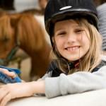 Emily, 11 Jahre, Lieblingspony: Camillo