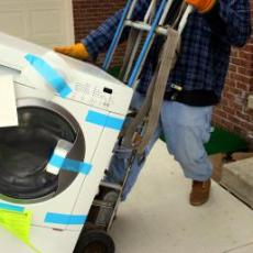 How to move a Washer and Dryer with Pony Express Moving