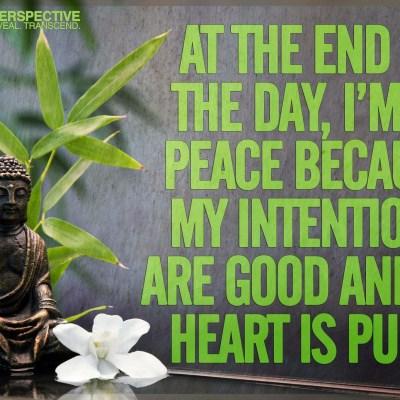 Be At Peace