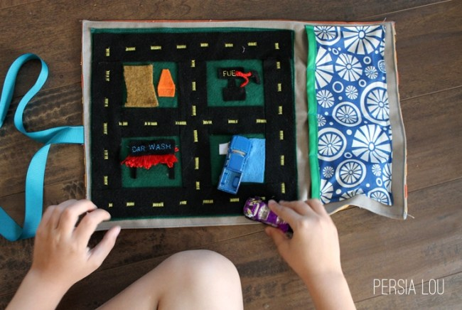 Cars Play Mat from Persia Lou