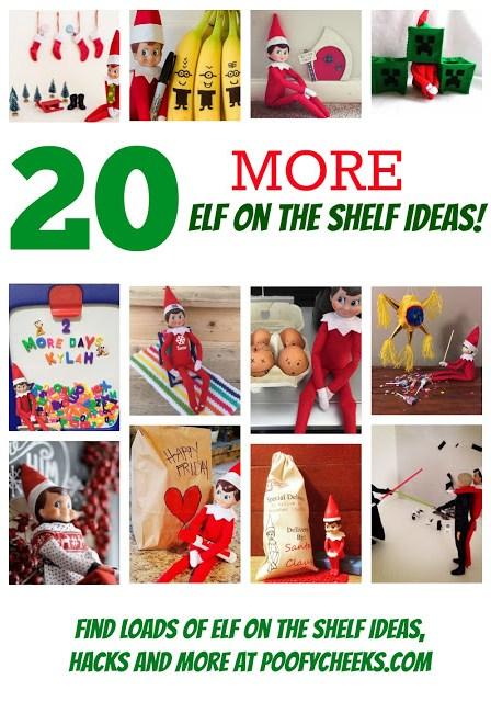 http://www.poofycheeks.com/2015/11/20-more-elf-on-shelf-ideas.html