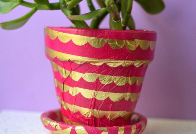 tissue-paper-pot
