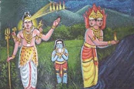 Havya vahan with Shiva tejassu