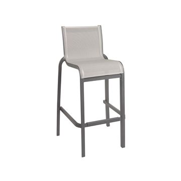 commercial outdoor sling bar stools for
