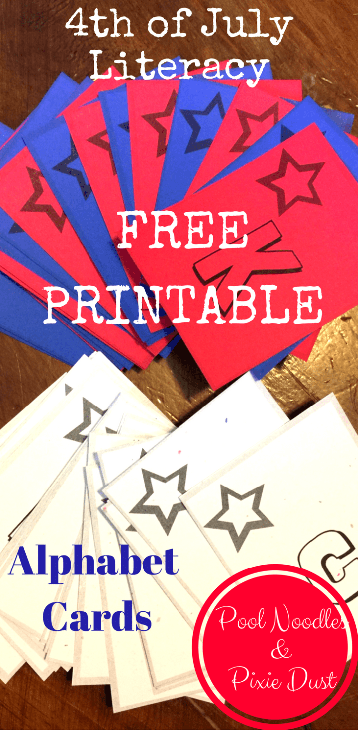 Printable Alphabet Cards. Fun ways to use letter matching cards.