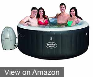 THE AFFORDABLE BESTWAY LAY Z SPA MIAMI INFLATABLE HOT TUB
