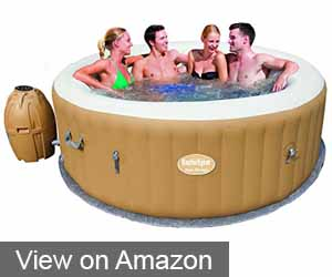 The Luxurious Lay-Z-Spa Palm Springs Inflatable Hot Tub