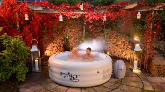 lay z spa inflatable hot tub