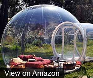 Outdoor Single Tunnel Inflatable Bubble Tent