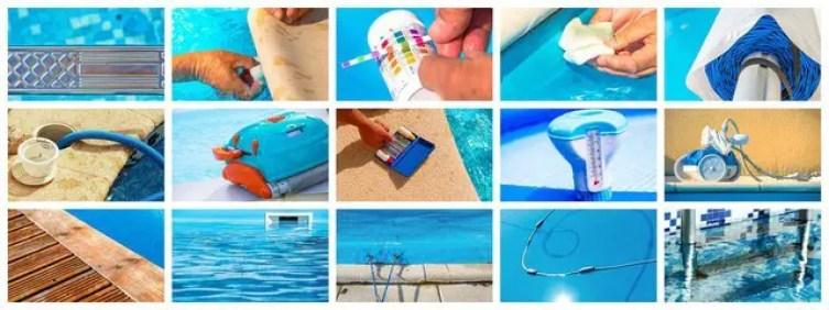 winter swimming pool maintenance