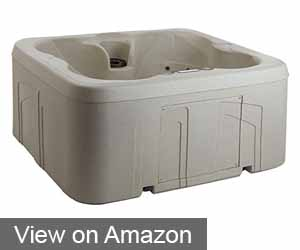 Lifesmart Rock Solid Simplicity Plug and Play 4 Person Hot Tub Spa