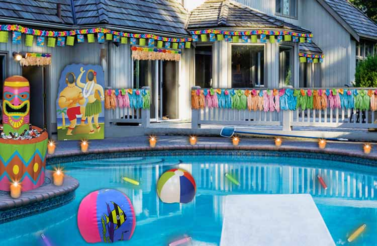 How to throw a pool party for adults