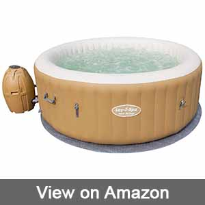 Lay-Z-Spa Palm Springs Inflatable Portable Hot Tub Spa
