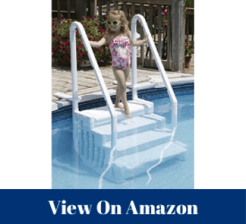 used above ground pool steps