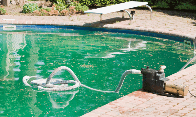 how to keep a pool clean cheaply