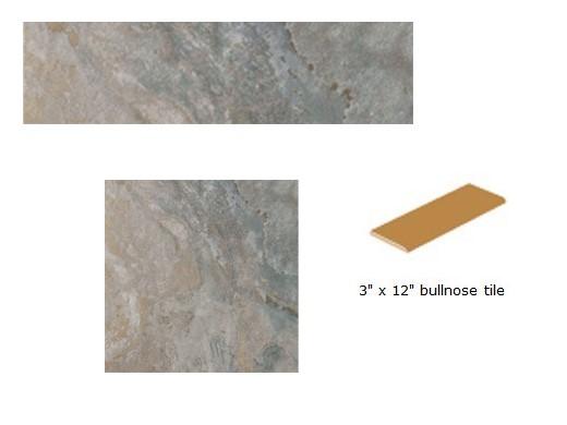 national pool tile sierra 3x12 single bullnose blue slate sierra bsl sbn