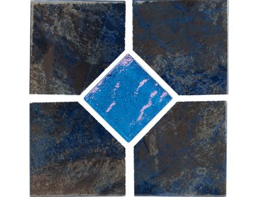 national pool tile coral 6x6 deco tile blue crl blue deco gl