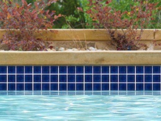 national pool tile 2x2 glazed series royal blue hm 206