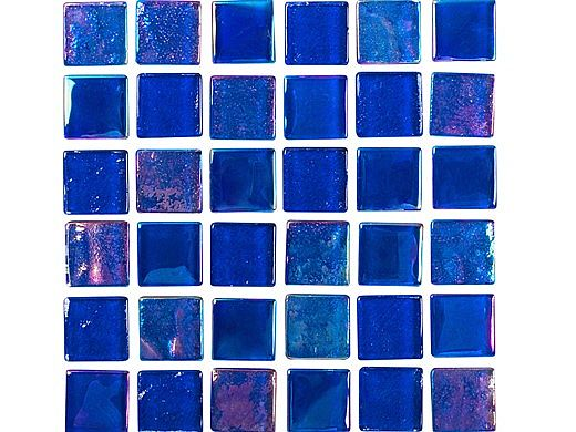 national pool tile equinox 1x1 glass tile dark blue eqx midnight