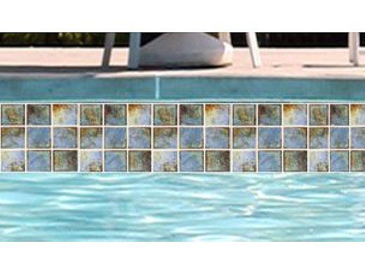 national pool tile martinique 2x2 series ocean blue marf233