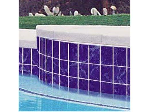 national pool tile seven seas 6x6 series mediterranean blue pa32
