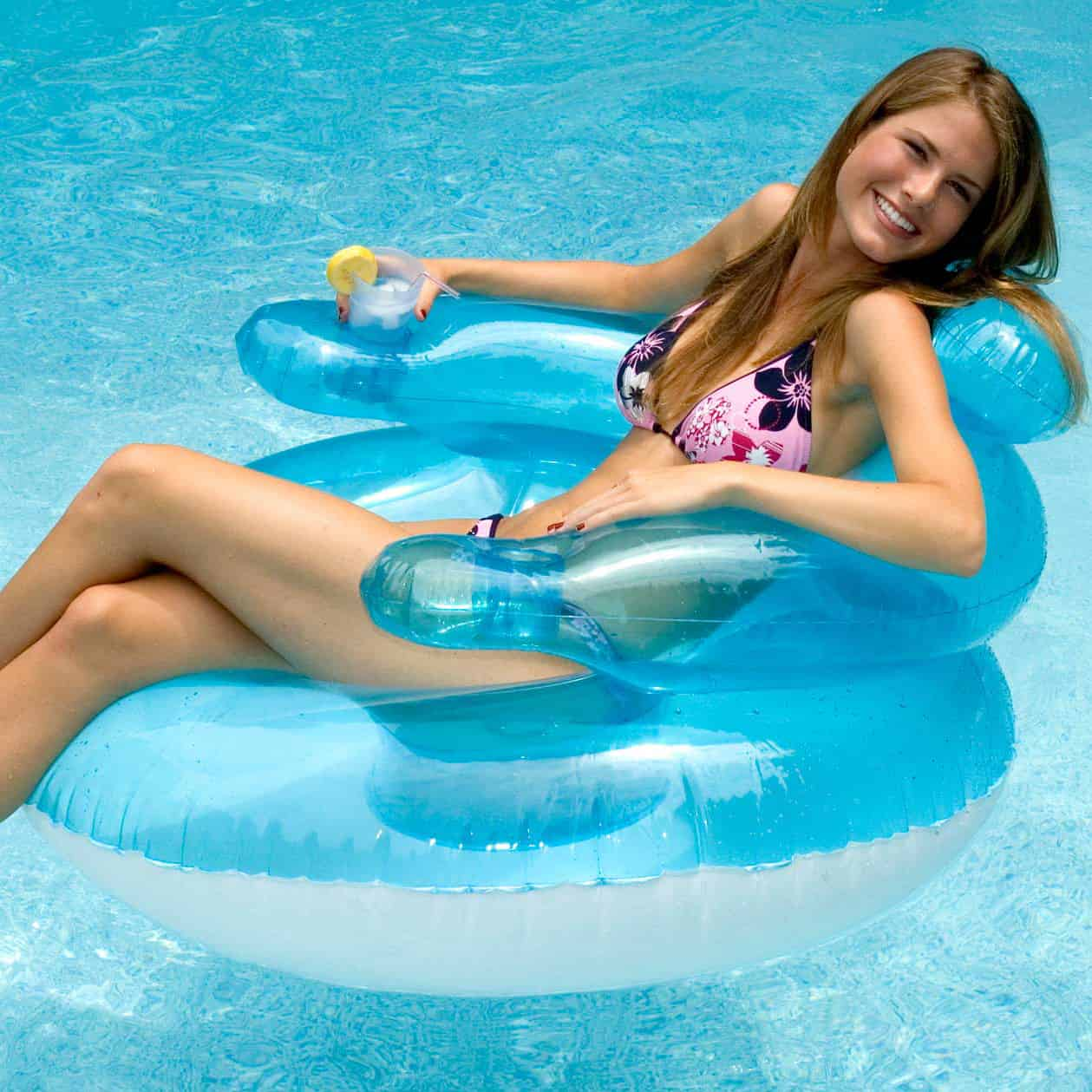 45 bubble chair pool float lounge chair