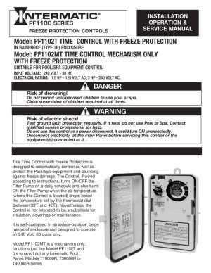 Freeze Protector Pool Wiring Diagram | Wiring Library