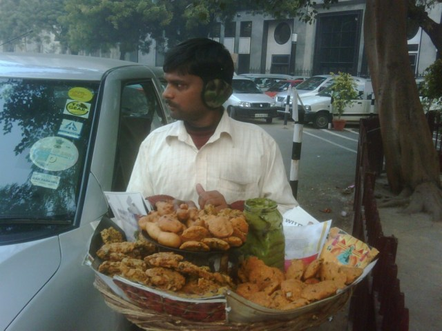 Pakoras on the go