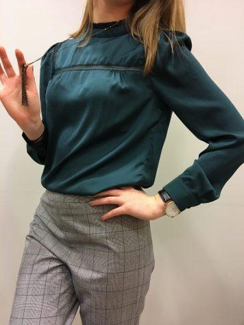 blouse verte