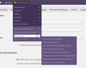 Woocommerce admin bar addition