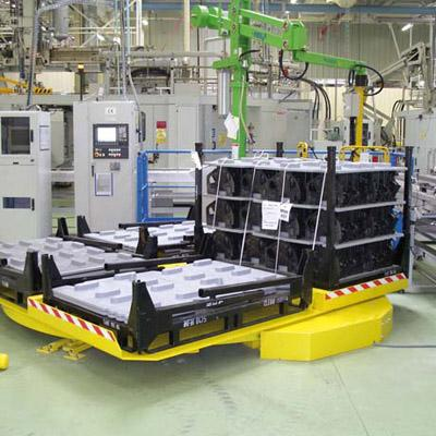 plateau tournant industriel manutention