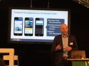 mobil job Recruiting und Bewerbung via Smartphone