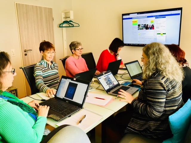 Dachverband Frauenlisten BW 2-tägige Fortbildung Social Media in pop-up SocialMedia PR-Agentur 72279 Dornstetten