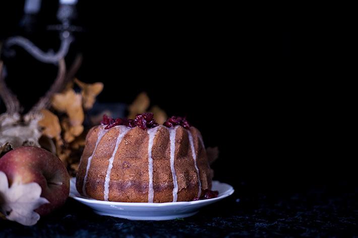 Halloween bundt cake - Salem