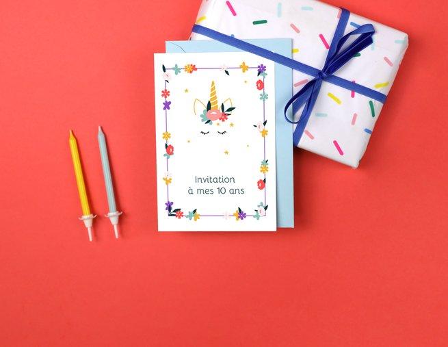 cartes d invitation personnalisees
