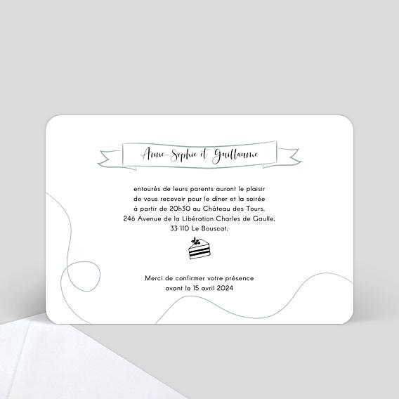 texte invitation mariage popcarte