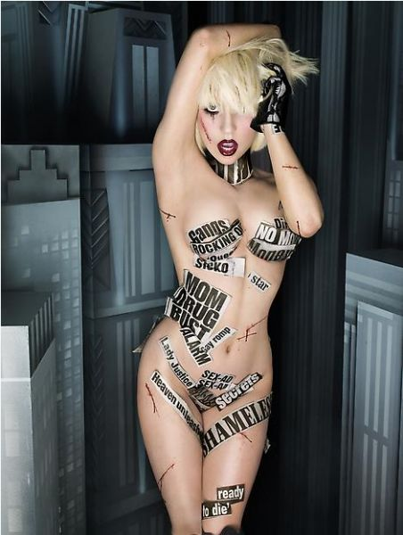 Фотосессия Lady GaGa от Дэвида ЛеШапелля