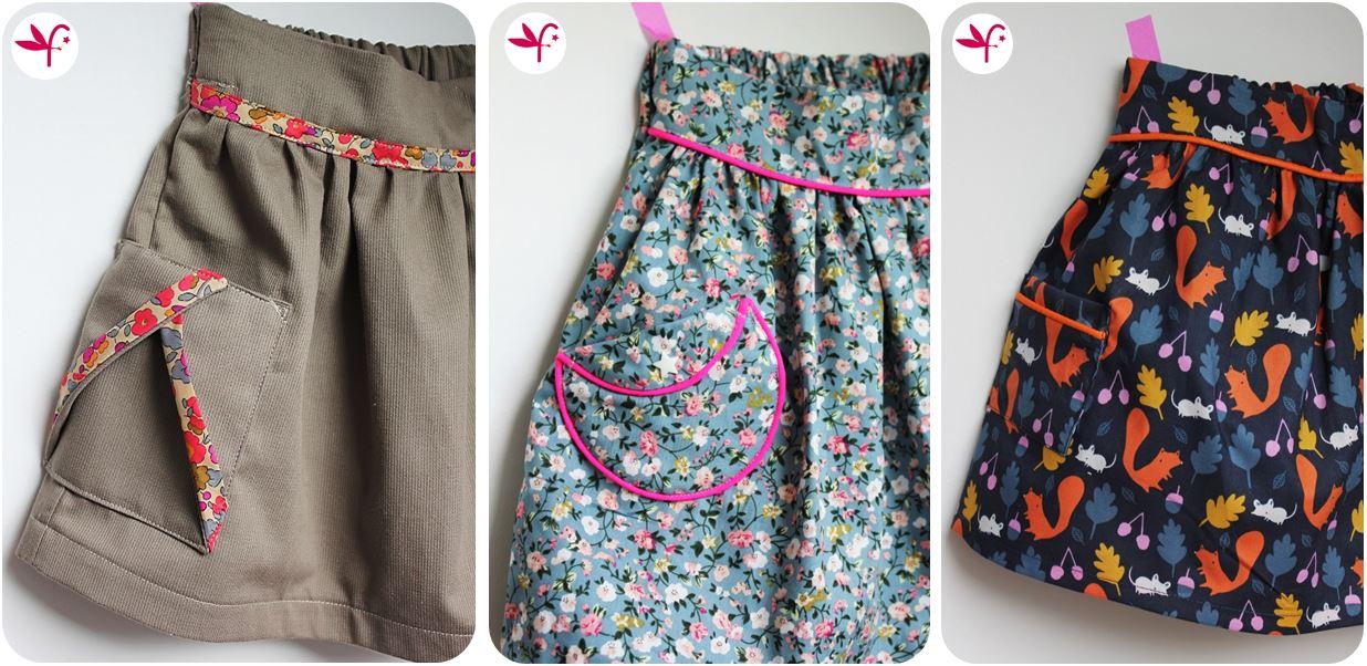 Les Petites Poches Plaques Pop Couture