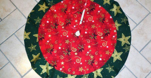 tapis de sapin de noel pop couture