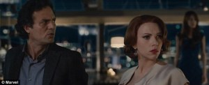 Bruce Banner and Black Widow