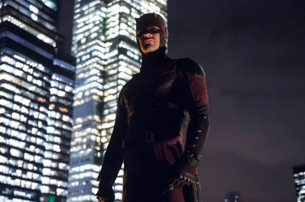 daredevil suit red