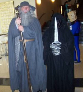 Gandalf and Wraith
