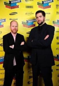 Joss Whedon and Drew Goddard
