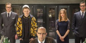 Cast of Kingsman: The Secret Service