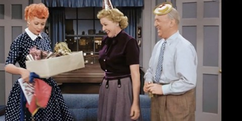 I Love Lucy in color!