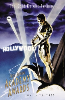 74th Annual Academy Awards Poster