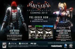 GameStop's Batman: Arkham Knight Story Packs